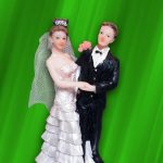 Figurine gateau mariage belgique