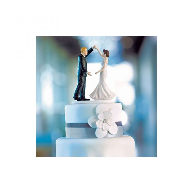 photo figurine gateau mariage danse
