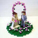 Figurine gateau mariage lego