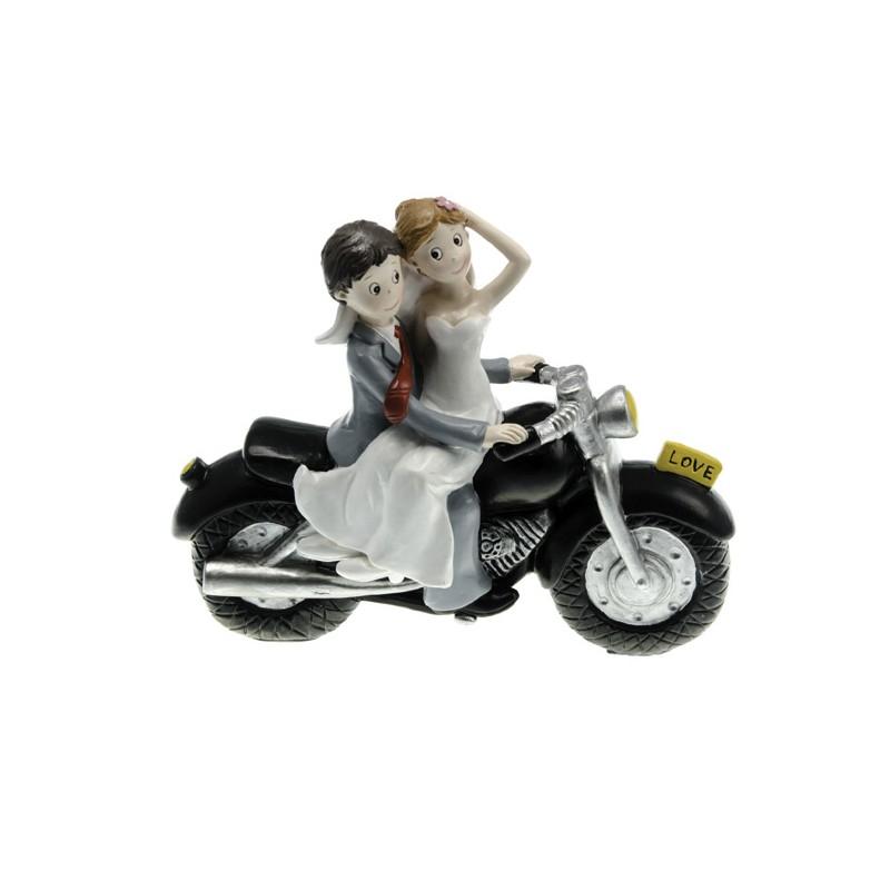 figurine gateau mariage moto 3. Black Bedroom Furniture Sets. Home Design Ideas