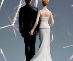 Figurine gateau mariage rigolo