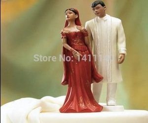 Figurine indienne pour gateau mariage