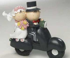 Figurine pour gateau mariage original