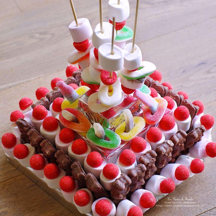 Idee Décoration Gateau Avec Bonbons 4