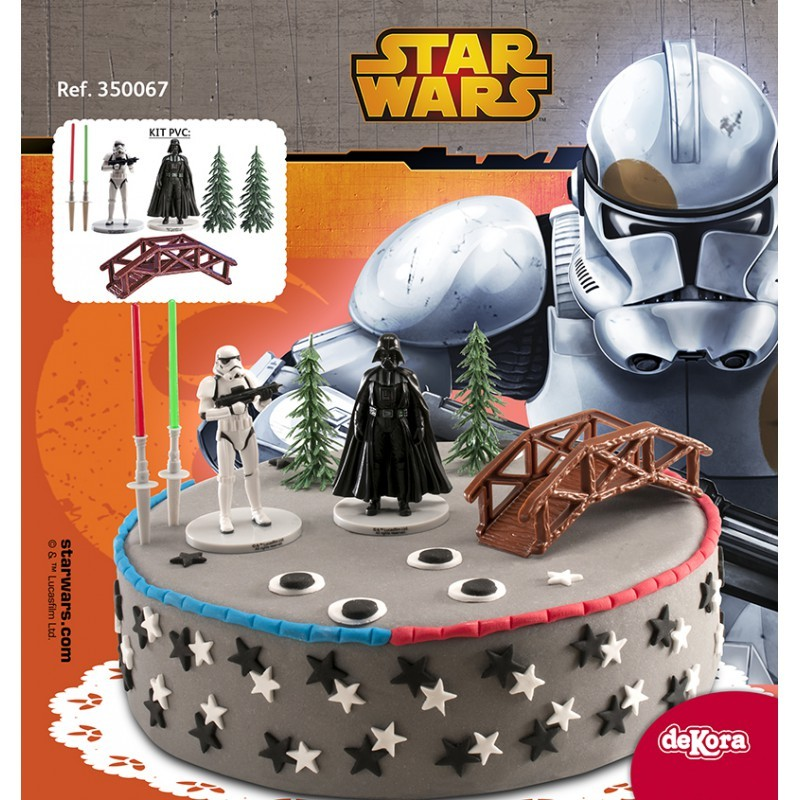 Déco gateau star wars