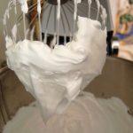 Décoration gateau meringue italienne