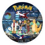 Décoration gateau pokemon
