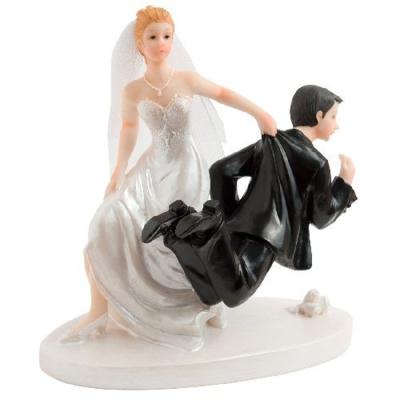 Jolie Figurine Gateau Mariage Humour