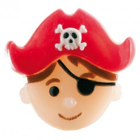 Décoration gateau pirate
