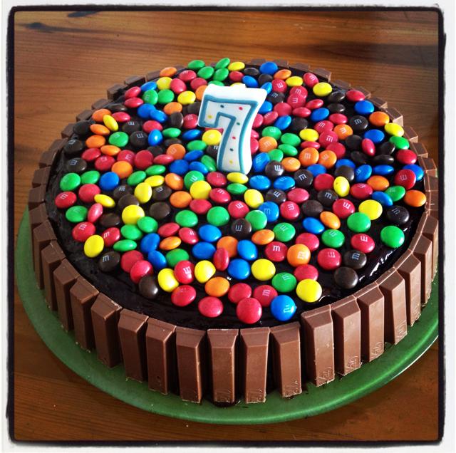 D coration gateau anniversaire fille 7 ans - Decor gateau anniversaire fille ...