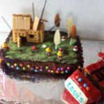Décoration gateau anniversaire pompier