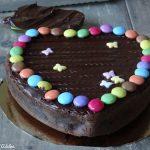 Décoration gateau chocolat anniversaire