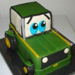 Décoration gateau tracteur