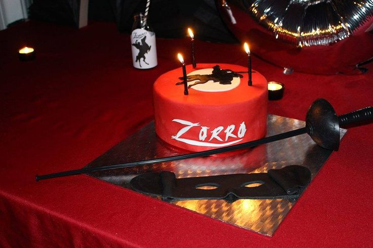 D coration gateau zorro 3 for Article de decoration