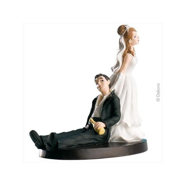photo figurine gateau mariage