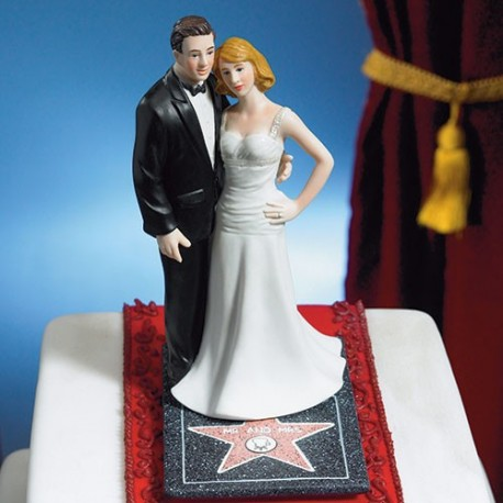 photo figurine gateau mariage theme cinema