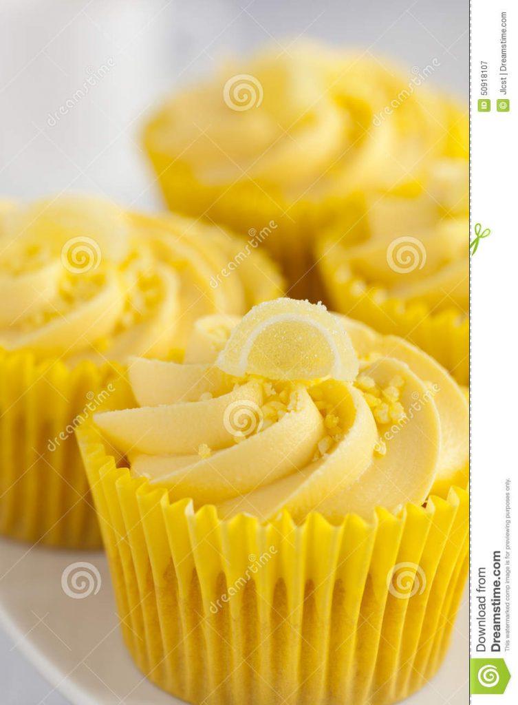 Décoration gateau citron