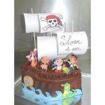 Décoration gateau jack et les pirates