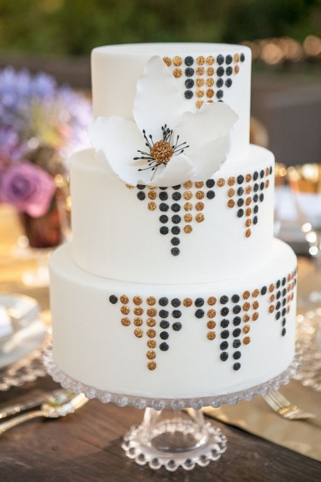 photo déco gateau wedding cake
