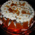 Décoration gateau caramel