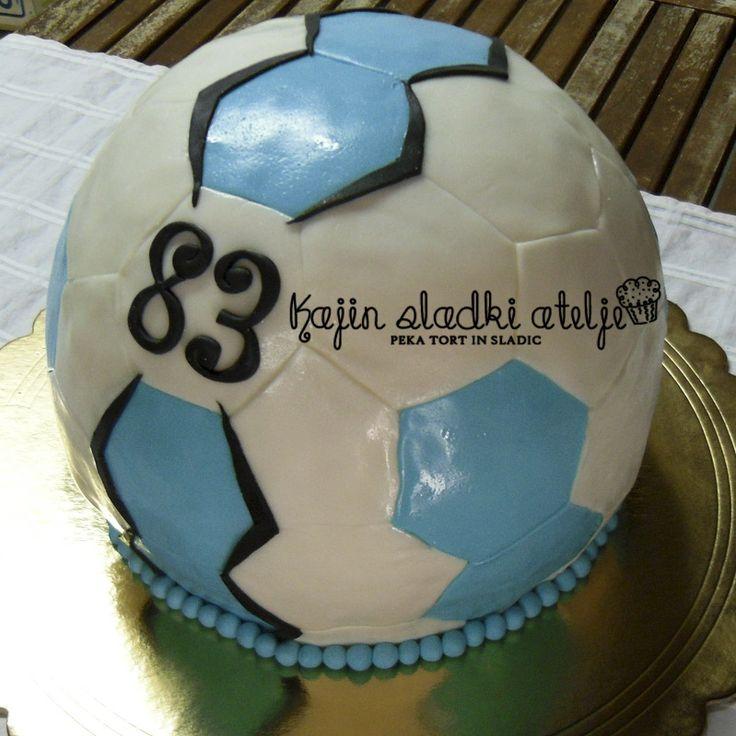 photo décoration gateau handball