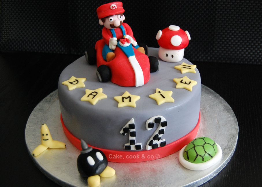 deco gateau anniversaire mario kart. Black Bedroom Furniture Sets. Home Design Ideas