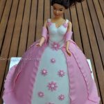 Décoration gateau princesse 3d