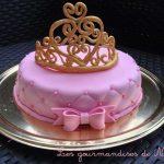 Décoration gateau princesse pate a sucre