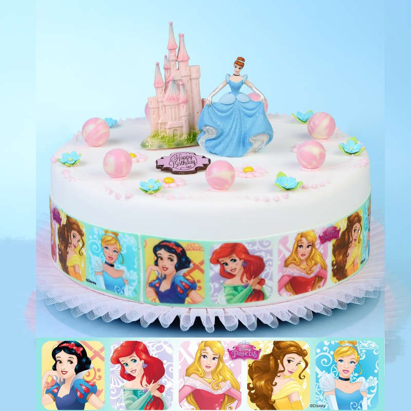 D coration gateau princesse pate a sucre for Decoration pate a sucre