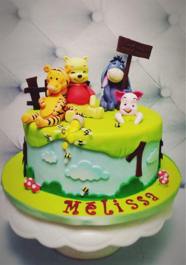 décoration gateau winnie l\u0027ourson 2