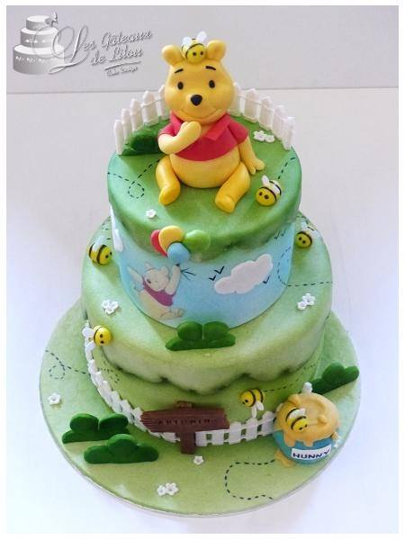 Décoration gateau winnie l\u0027ourson