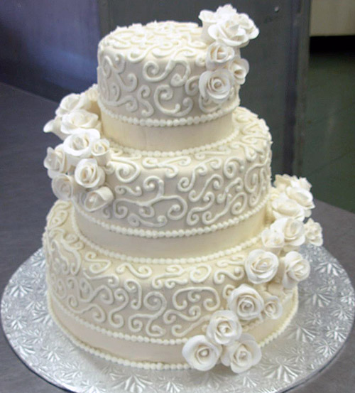 photo décoration gateaux de mariage