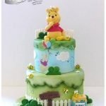Décoration gateau winnie l'ourson