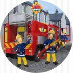 Décoration gateau sam le pompier