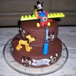 Déco gateau mickey anniversaire