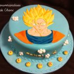 Décoration gateau dragon ball z