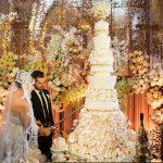 Décoration gateau mariage image