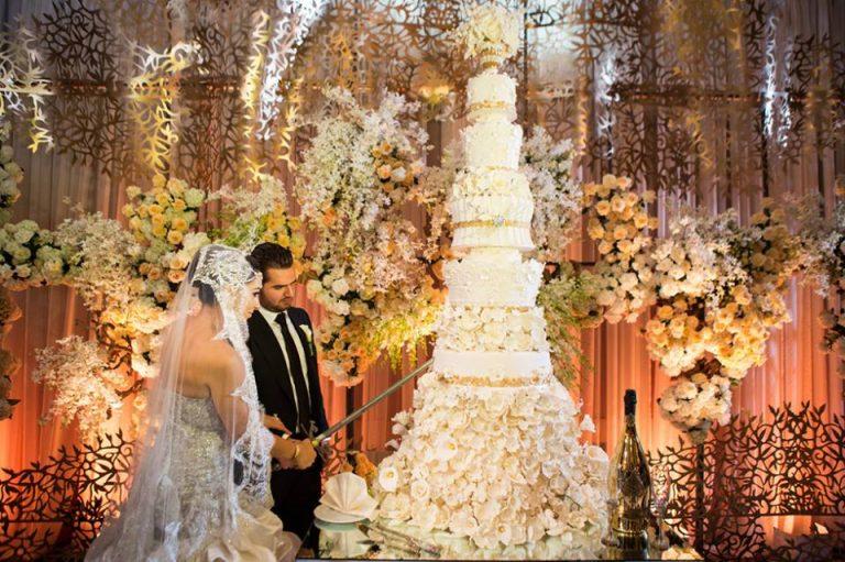 photo décoration gateau mariage image