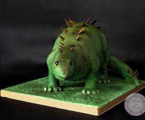 Déco gateau dinosaure