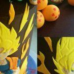 Décoration gateau dragon ball z